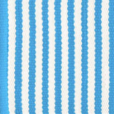 Candy Stripe Turquoise Placemats/ set of 4