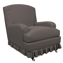 Canvasuede Charcoal Ellis Chair