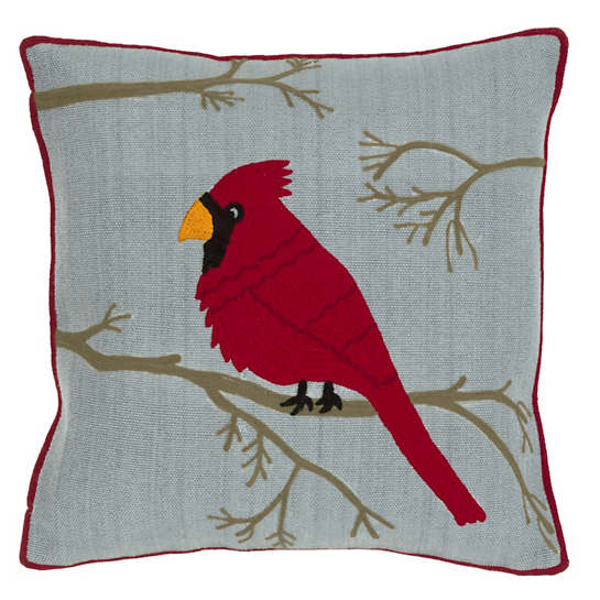 Cardinal Indoor/Outdoor Pillow