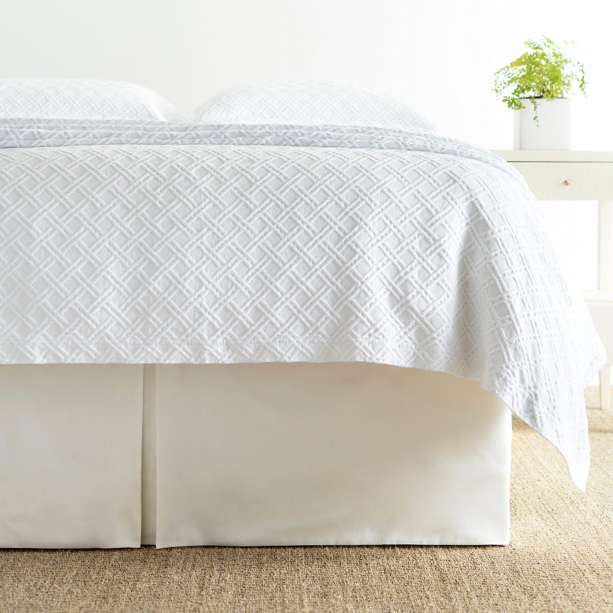Carina Ivory Bedskirt