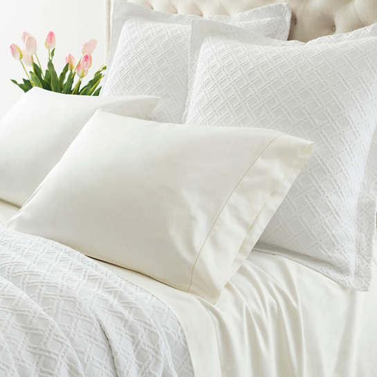 Carina Ivory Fitted Sheet