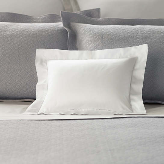 Carina White Decorative Pillow