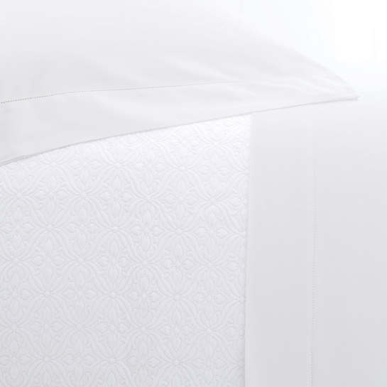 Carina White Pillowcases