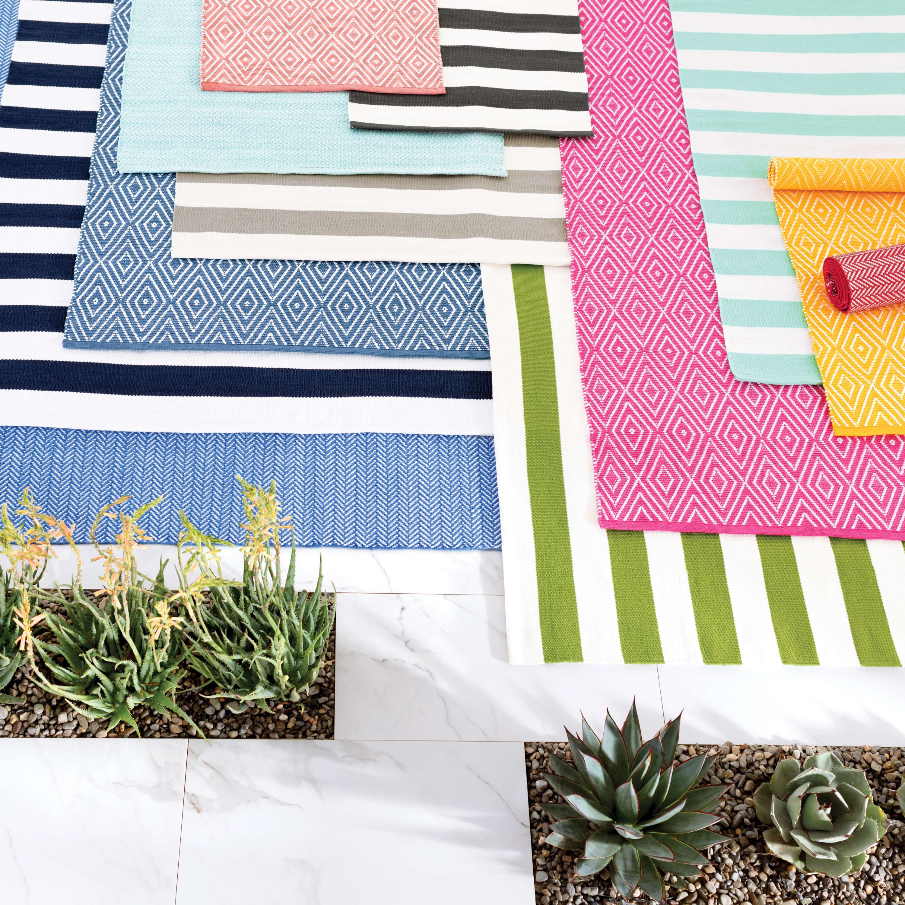 Indoor Outdoor Rugs by Annie Selke | Fresh American Style