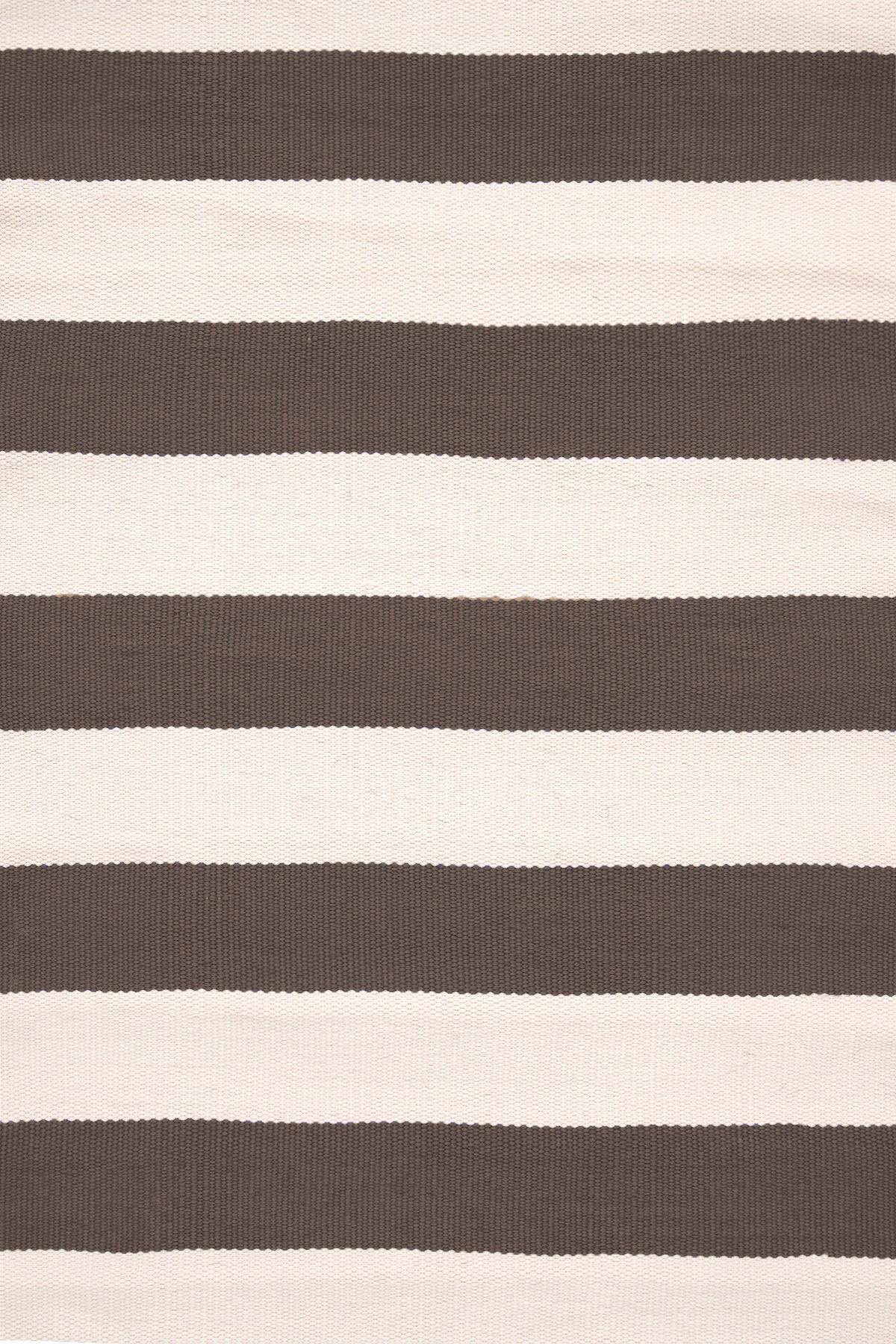 Catamaran Stripe Charcoal/Ivory Indoor/Outdoor Rug