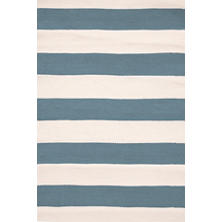 Catamaran Stripe Slate/Ivory Indoor/Outdoor