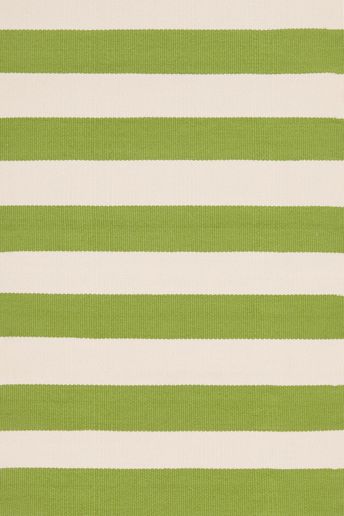 Catamaran Stripe Sprout/Ivory Indoor/Outdoor Rug
