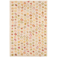 Cat's Paw Pastel Micro Hooked Wool Rug