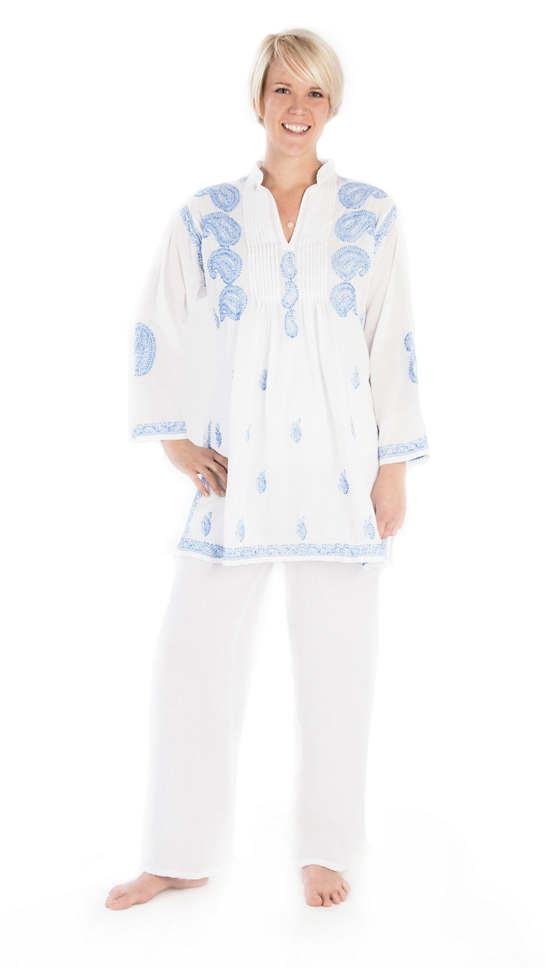 Cecilia French Blue Tunic