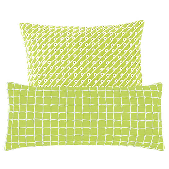 Chadna Green Decorative Pillow
