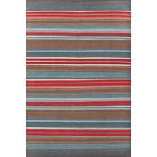 Chalet Stripe Wool Woven Rug