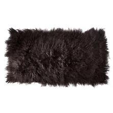 Charcoal Mongolian Sheepskin