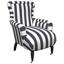 Alex Indigo Charleston Chair