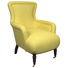 Estate Linen Citrus Charleston Chair