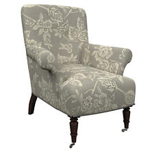 Charlotte Linen Barrington Chair