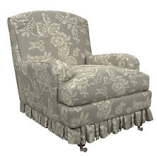 Charlotte Linen Ellis Chair