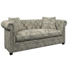 Charlotte Linen Richmond Sofa