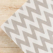 Chevron Platinum Napkins/ set of 4