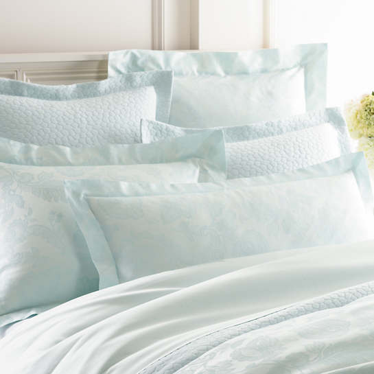 Chinois Damask Pearl Blue Pillowsham