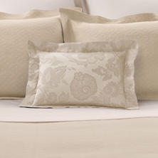 Chinois Damask Sandstone Decorative Pillow