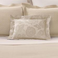 Chinois Damask Sandstone Decorative Pillow