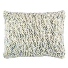 Chunky Knit Mist Decorative Pillow