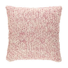 Chunky Knit Pink Sham