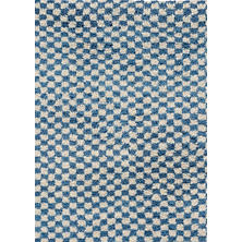 Citra Denim Hand Knotted Wool Rug
