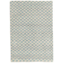 Citra Robin's Egg Blue Hand Knotted Wool Rug