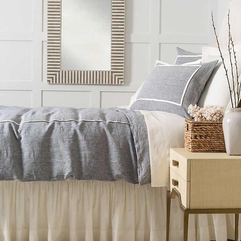 You Complete Me: How to Finish Your Bed with a Bed Skirt | Annie Selke's Fresh American Style