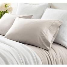 Classic Hemstitch Platinum Pillowcases (Pair)