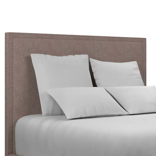 Canvasuede Heather Colebrook Smoke Headboard