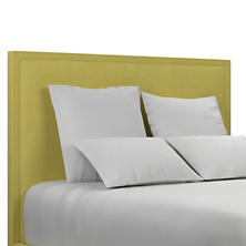 Estate Linen Citrus Colebrook Whitewash Headboard