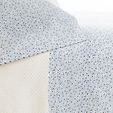 Confetti French Blue/Indigo Pillowcases (Pair)