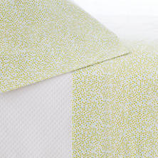 Confetti Green/Sky Pillowcases (Pair)