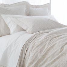 Confetti Grey/Linen Duvet Cover