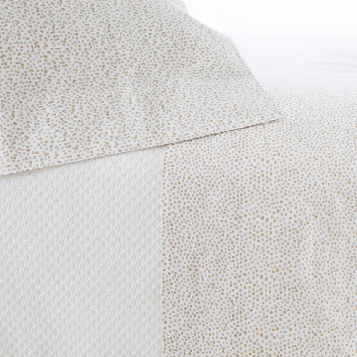 Confetti Grey/Linen Pillowcases (Pair)