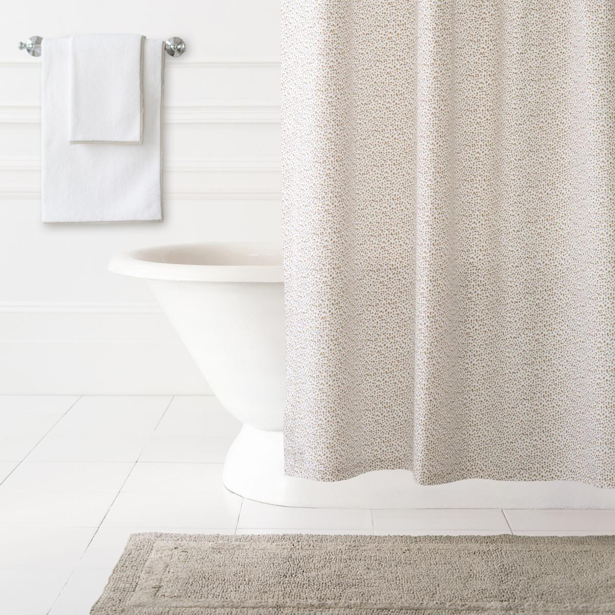 Confetti Grey/Linen Shower Curtain | Pine Cone Hill