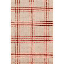 Cooper Red Jute Woven Rug