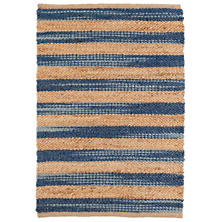 Corfu Blue Woven Jute Rug