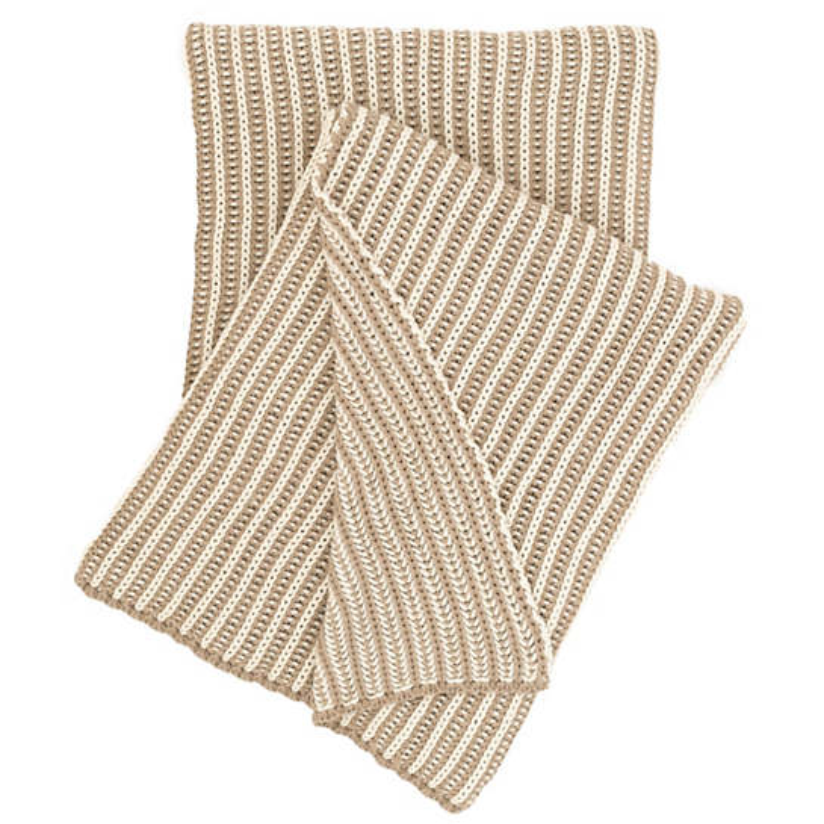 Cozy Knit Linen Throw