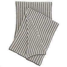 Cozy Knit Shale Throw