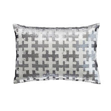 Crisscross Sequin  Decorative Pillow