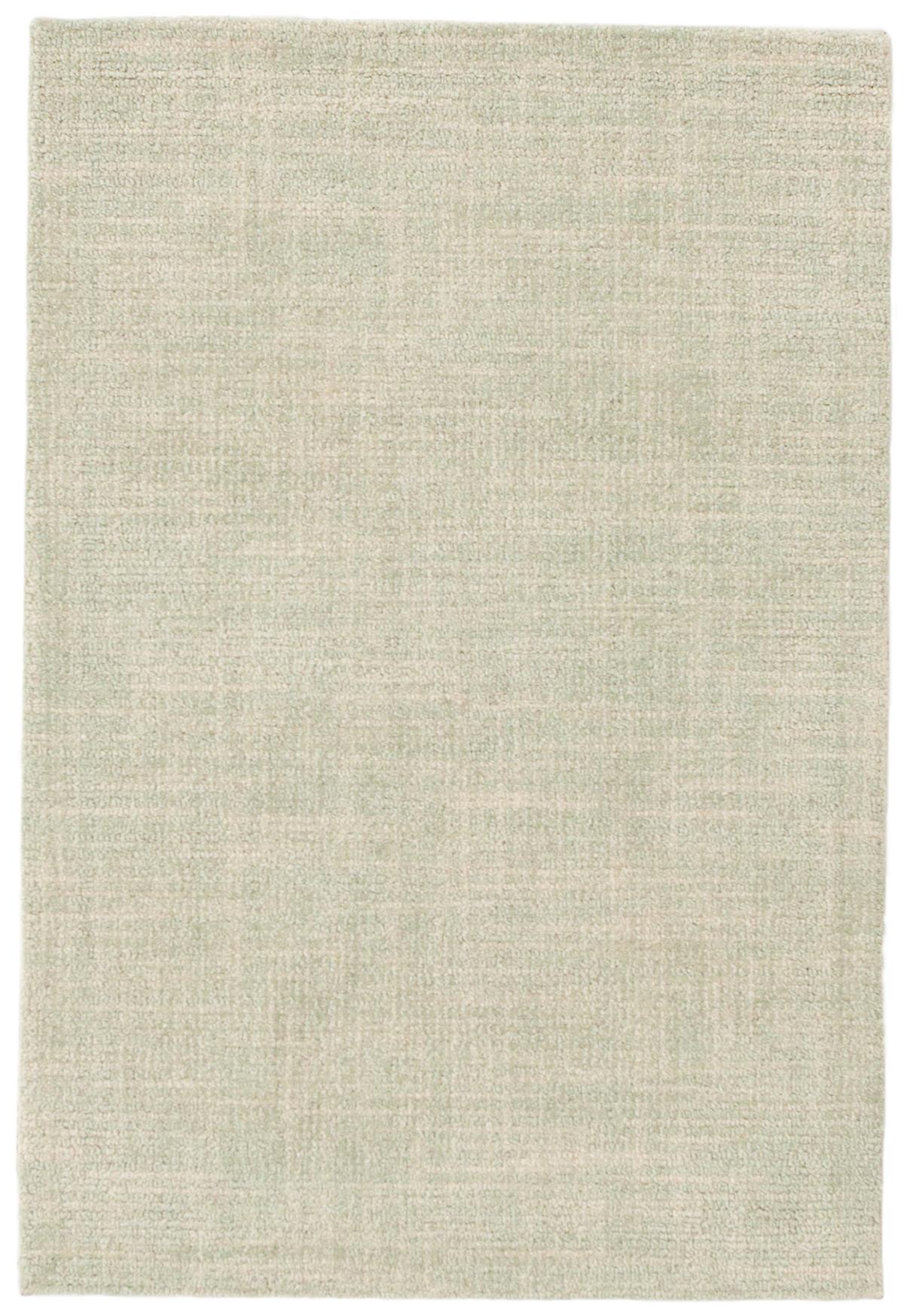 Crosshatch Celadon Wool Micro Hooked Rug Dash Amp Albert