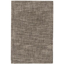 Crosshatch Charcoal Wool Micro Hooked Rug