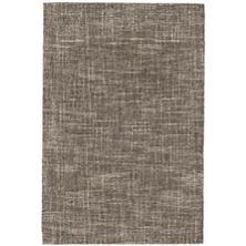 Crosshatch Charcoal Wool Micro Hooked Rug