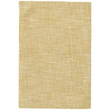 Crosshatch Gold Wool Micro Hooked Rug