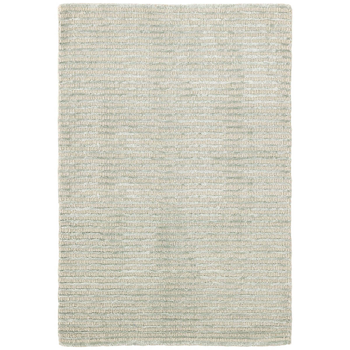 Cut Stripe Ocean Hand Knotted Rug Dash Amp Albert
