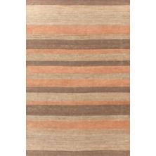Desert Stripe Jute Woven Rug