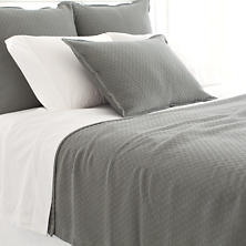 Diamond Agate Matelassé Coverlet